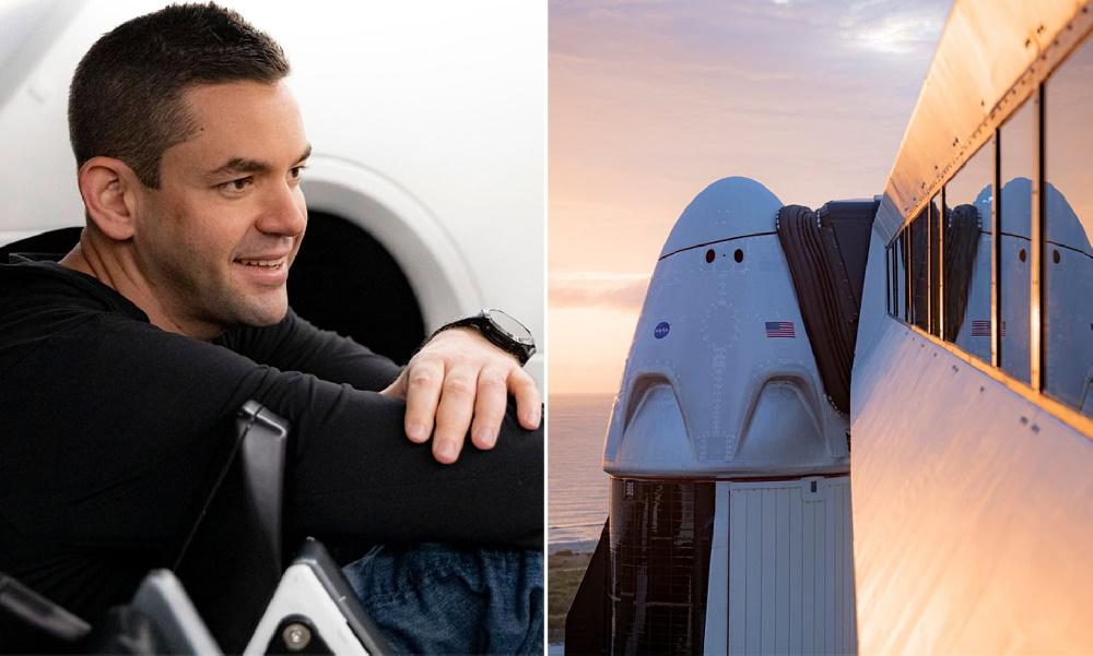 خرید پرواز چند ده میلیون دلاری فضاپیمای SpaceX توسط یک میلیاردر با اهداف خیریه