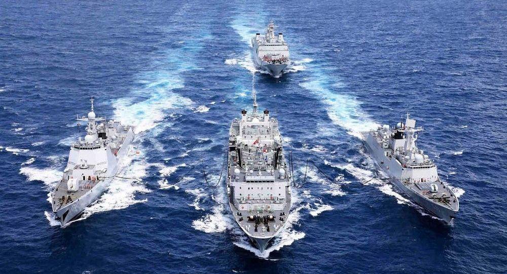 آغاز رزمایش مشترک سه روزه نیروهای دریایی ایران و روسیه در آب های اقیانوس هند
