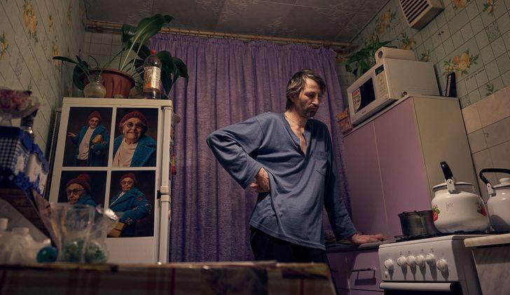 یک عکاس مشهور روس با گرفتن عکس از دوستش او را از یک رفتگر مبتلا به کم توانی ذهنی به یک مدل معروف تبدیل کرد.