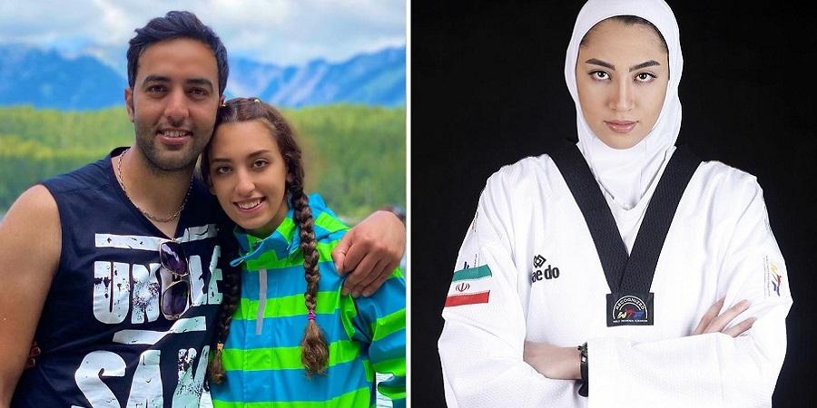 کیمیا علیزاده رسماً اقامت آلمان را دریافت کرد