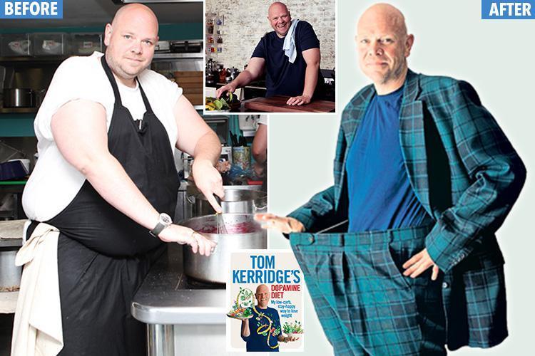 کاهش وزن با رژیم غذایی دوپامین محور به روایت تام کریج، سرآشپز معروف بریتانیایی