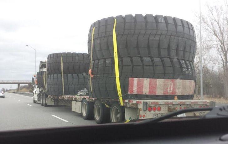 به نظر شما این تایرها به چه ماشینی تعلق دارند