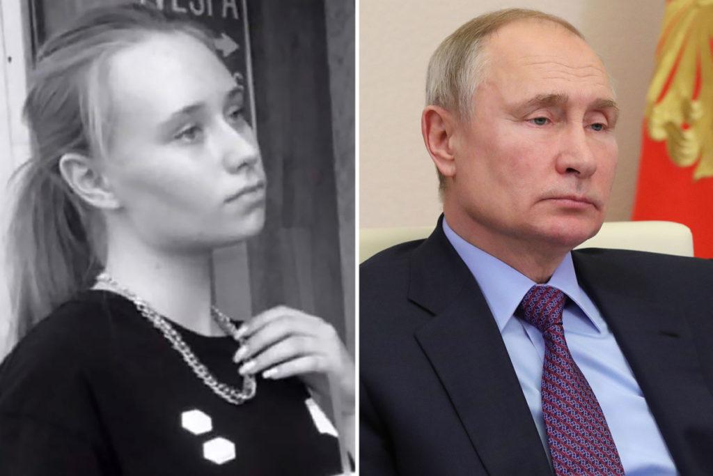 توصیه عجیب دختر «مخفی» ولادیمیر پوتین به تظاهرکنندگان و نیروهای امنیتی روسیه