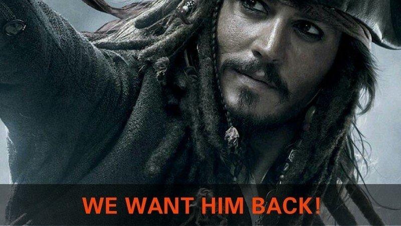 تعداد امضاهای کمپین اعتراضی طرفداران جانی دپ برای بازگرداندن او به نقش جک اسپارو اکنون عدد یک میلیون را نشانه گرفته است