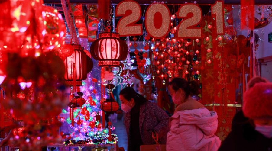 آغاز سال نو چینی؛ سال گاو از راه رسید