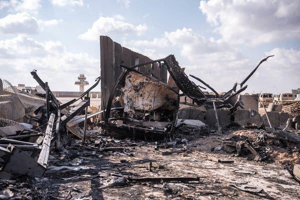 شبکه cbs اخیراً تصاویری از لحظه حمله به پایگاه عین الاسد منتشر کرده که یکی از افسران آمریکایی آن را به «عبور یک قطار باری» تشبیه کرده است.