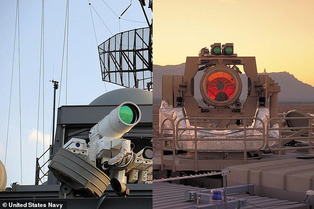 ارتش آمریکا در حال ساخت قویترین لیزر دنیا