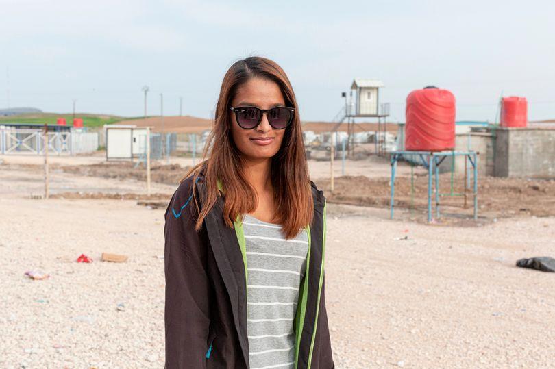 کشف حجاب شمیمه بیگم در کمپ اسرای زنان داعشی در سوریه بعد از ۶ سال
