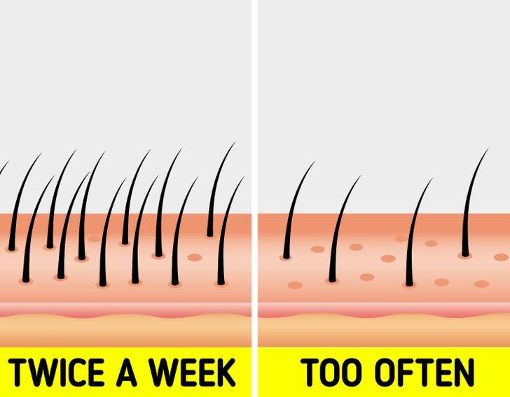 این نشانه ها می گویند موهایتان را زیاد از حد می شویید