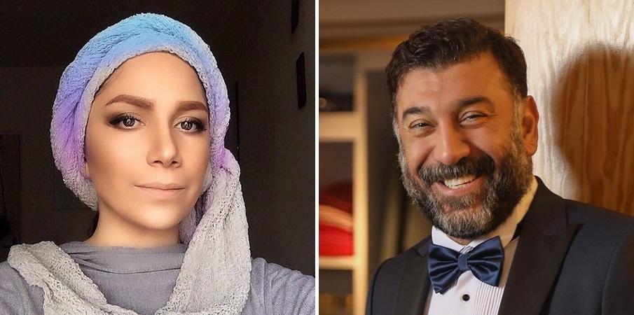 ادعای خانم بازیگر درباره نامزدی اش با علی انصاریان و واکنش خانواده انصاریان