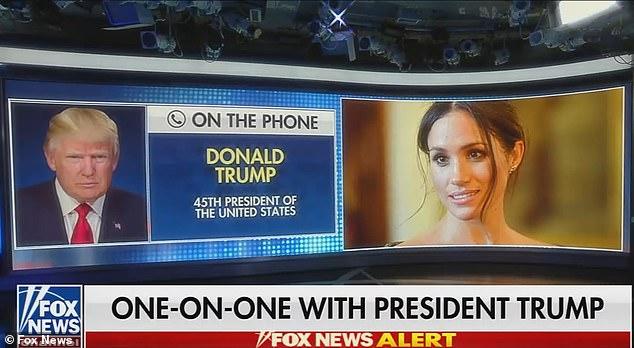 دونالد ترامپ می گوید دوست دارد مگان مارکل برای انتخابات ریاست جمهوری در سال 2024 نامزد شود زیرا این کار تصمیم را برایش راحتتر می کند