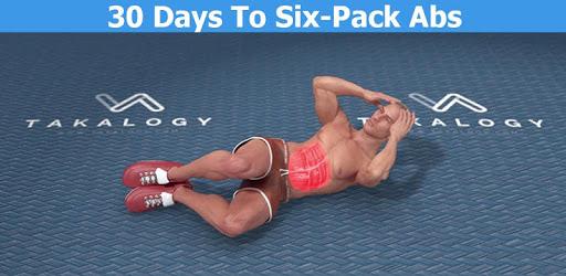 اپلیکیشن سیکس پک یک ماهه (Six Pack in 30 Days) اپلیکیشنی است که ادعا دارد در عرض 30 روز به شما سیکس پک می دهد.