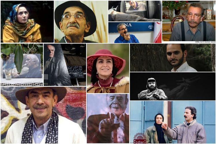 تمام بازیگران ایرانی که در سال ۱۳۹۹ از دست دادیم؛ از «علی انصاریان» تا «سیروس گرجستانی»