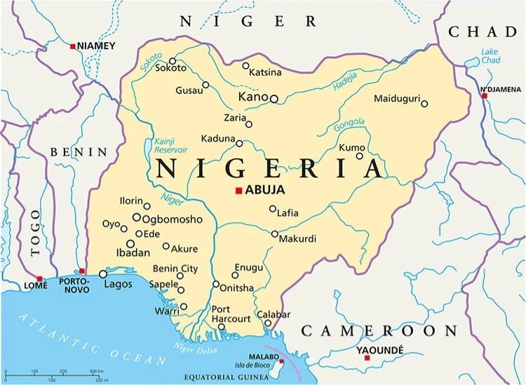 کشور نیجریه با نام رسمی جمهوری فدرال نیجریه یکی از پرجمعیت ترین کشورهای آفریقایی است که در غرب این قاره واقع شده است.