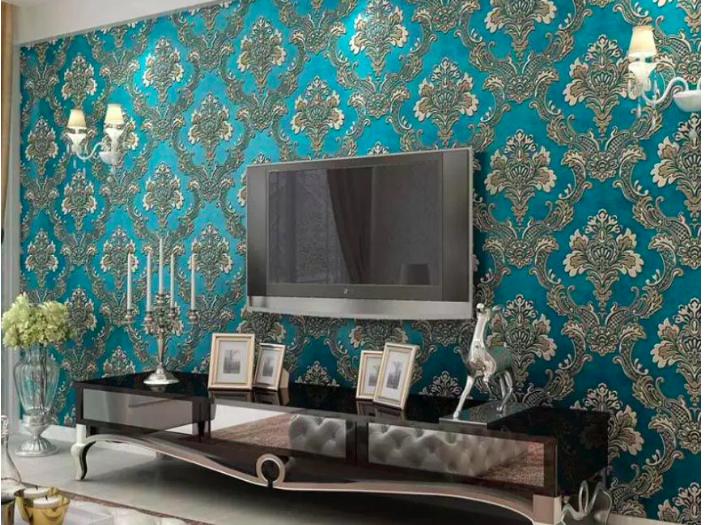 چه نوع کاغذ دیواری برای منزل مناسب است؟