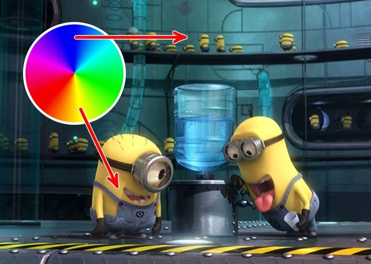 آیا می دانستید چرا تا به این اندازه از رنگ زرد برای طراحی شخصیت های کارتونی محبوب کودکان استفاده می شود؟