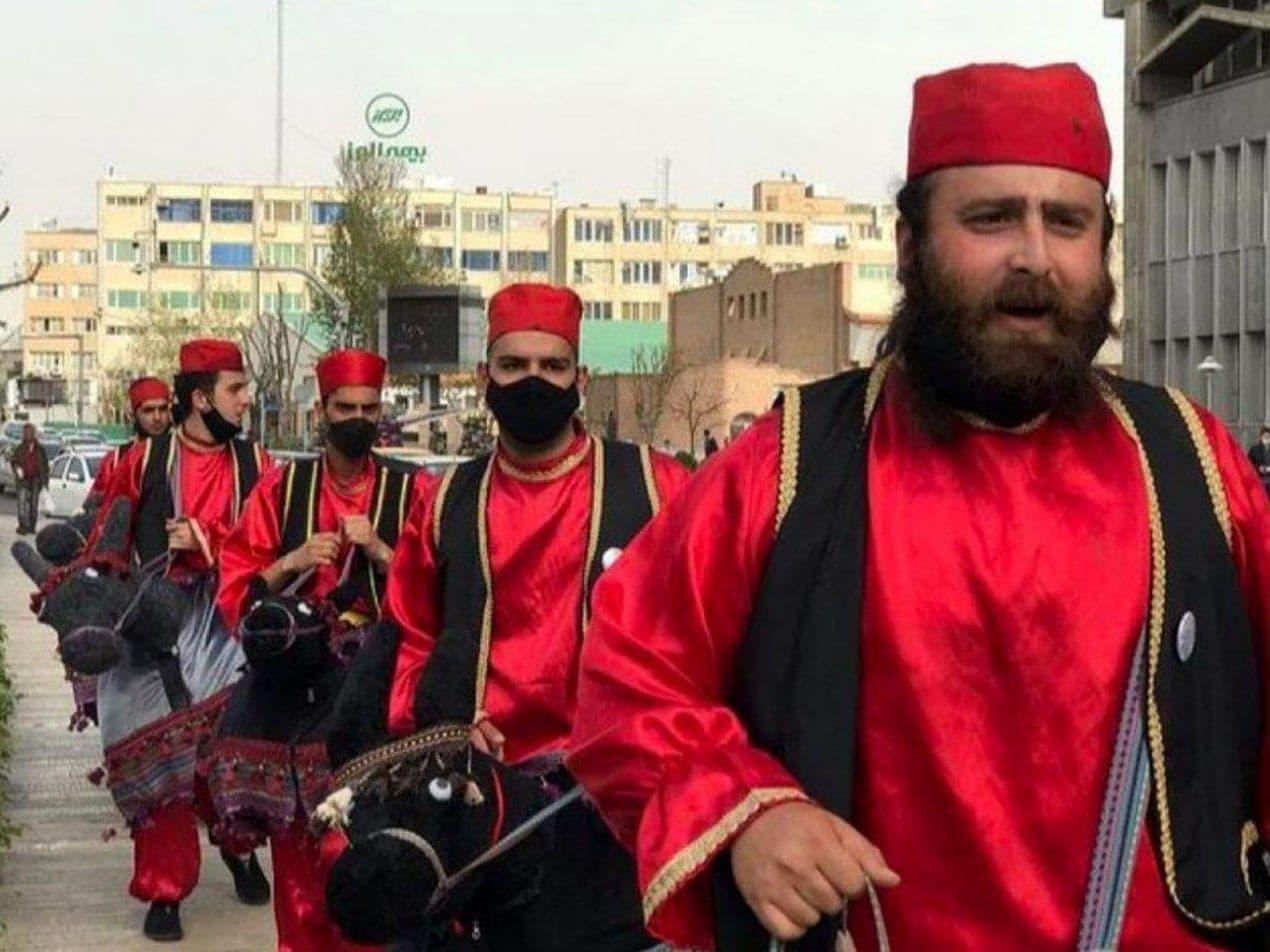 حاجی فیروز در تهران رنگ عوض کرد
