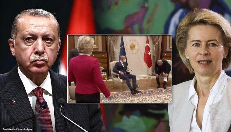 ماجرای «سوفاگیت» و عصبانیت رییس کمیسیون اروپا از نداشتن صندلی در دیدار با اردوغان