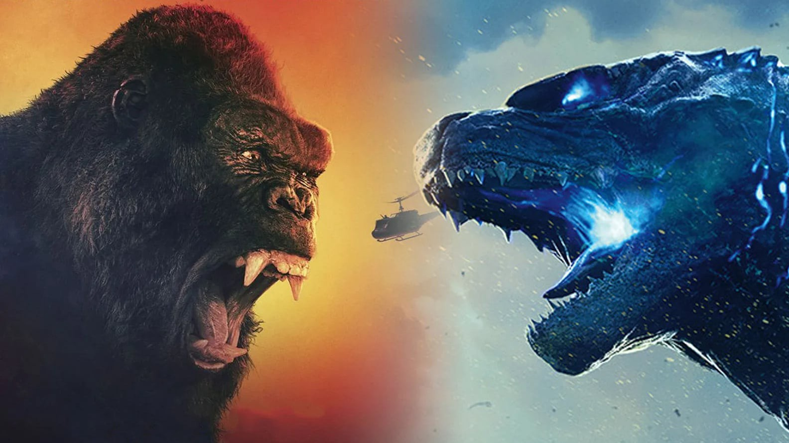 فیلم Godzilla vs. Kong که توسط آدام وینگارد کارگردانی شده، وقتی پای سکانس های نبرد به میان می آید بسیار جاه طلبانه است