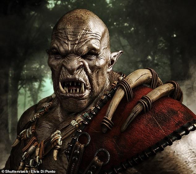یک مرد معتاد به تتو در طی سال ها خود را به یک اورک (Orc) واقعی شبیه آن چه در فیلم های Lord of the Rings دیده ایم تبدیل کرده است.