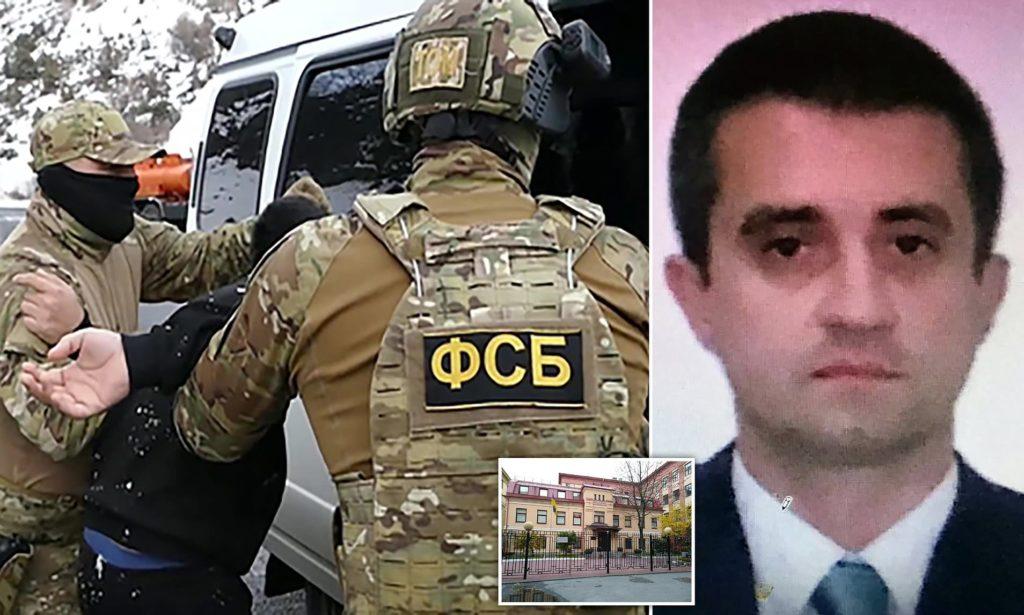 دستگیری سرکنسول اوکراین در روسیه به جرم جاسوسی و حربه پوتین برای تحقیر بایدن