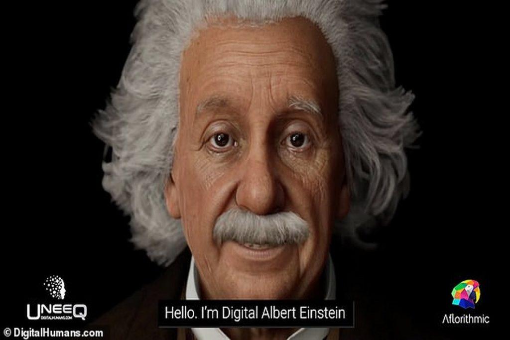اینشتین دیجیتالی با هوش مصنوعی شما را شگفت زده خواهد کرد
