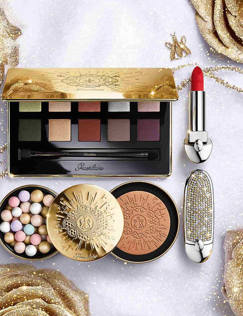 8 Guerlain Golden Bloom Holiday 1 - با ۱۰ مورد از برترین برندهای آرایشی دنیا آشنا شوید