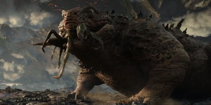 از طریق زمین توخالی (Hollow Earth)، فیلم Godzilla vs. Kong هیولاهای جدید را به دنیای هیولا (MonsterVerse) معرفی کرد.