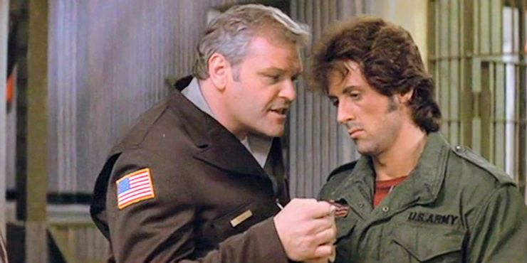 Brian Dennehy rambo first blood - نسخه ای متفاوت از Rambo 4 که شاهد بازگشت شخصیت منفی اولین خون بود