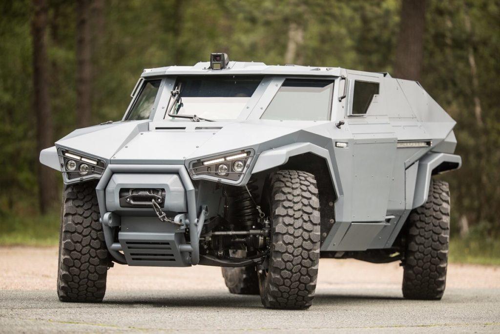 Scarabée ؛ جدیدترین خودرو زرهی ساخت کمپانی Arquus با قابلیت حرکت شبیه خرچنگ