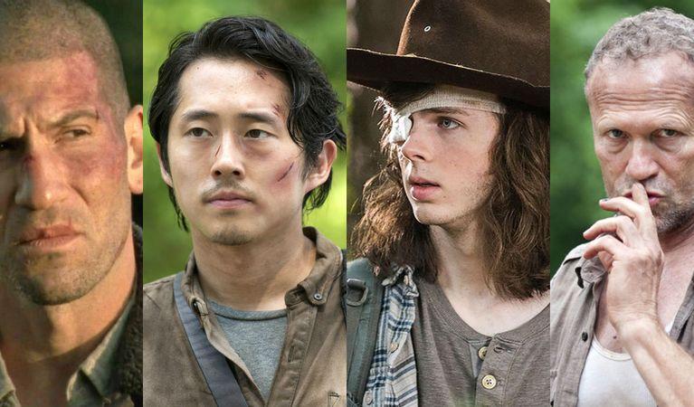 زمان و چگونگی مرگ تمام شخصیت های اصلی سریال The Walking Dead