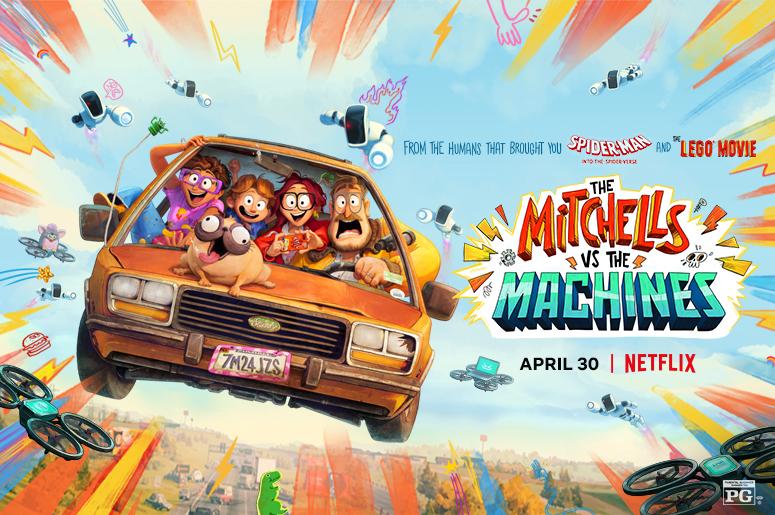 Mitchells bc56fc86 93a6 43b5 b918 0d2443a13d33 - انیمیشن The Mitchells Vs. The Machines داستانی علمی تخیلی در قالب کمدی که باید دید