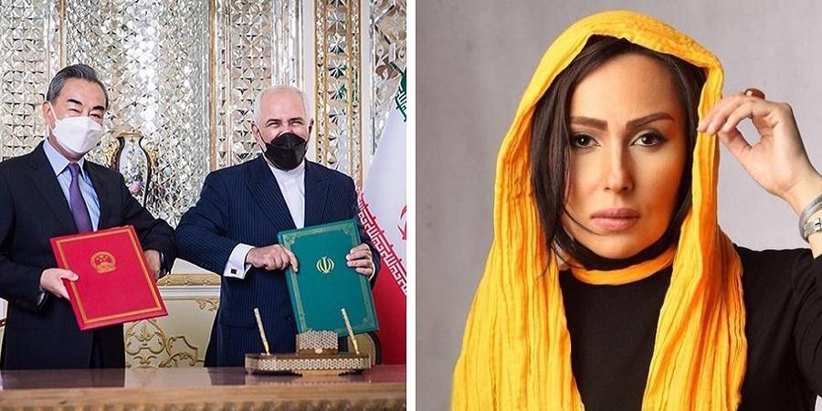 حمله کیهان به سلبریتی های مخالف توافق ایران و چین