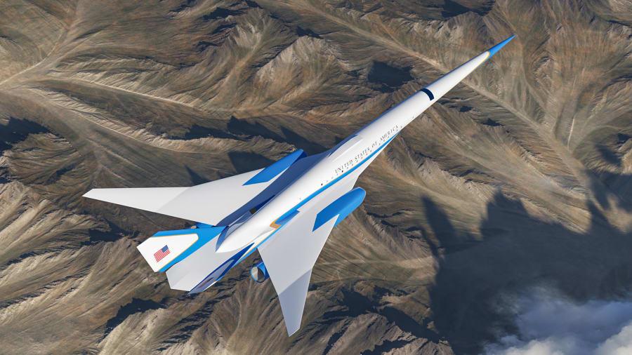 یک استارتاپ کالیفرنیایی در حال همکاری با نیروی هوایی ایالات متحده برای توسعه هواپیمای مافوق صوتی برای رییس جمهور ایالات متحده است.