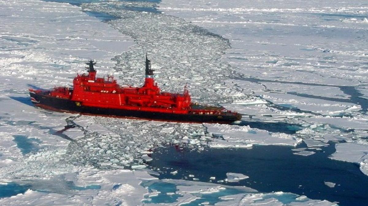 تصاویر هوایی از تحرکات نظامی گسترده روسیه در قطب شمال خبر می دهند