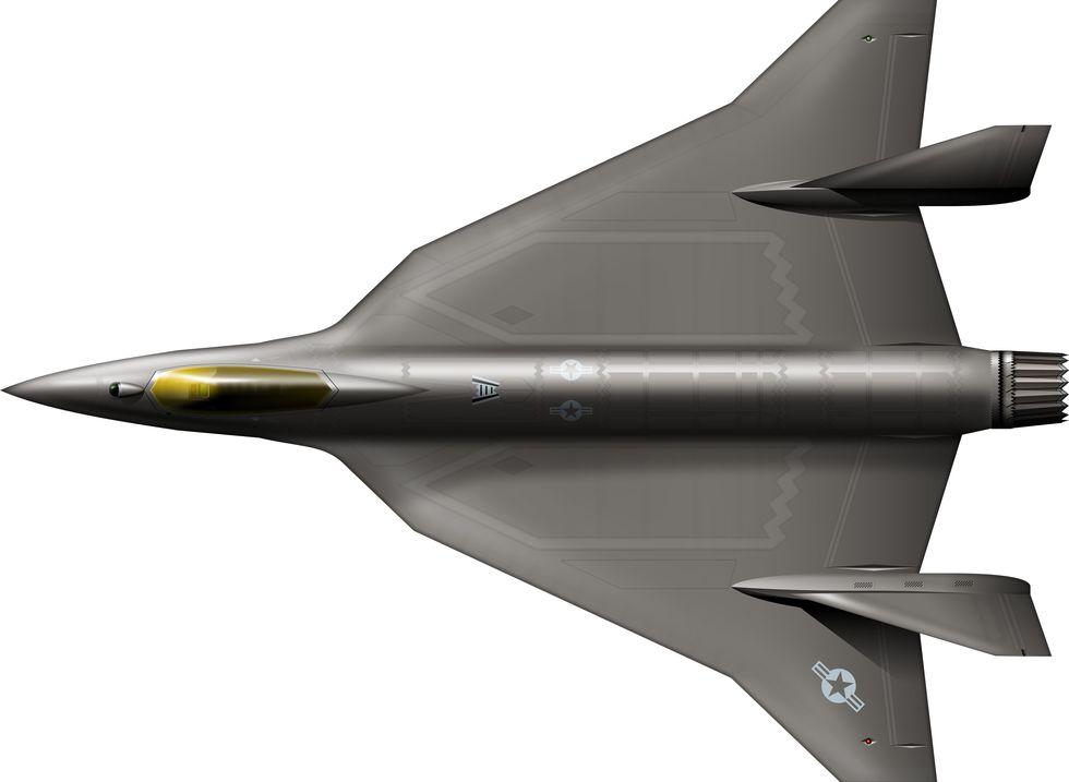 F-36 Kingsnake ؛ جنگنده جدید نیروی هوایی ایالات متحده که جایگزین F-16 میشود