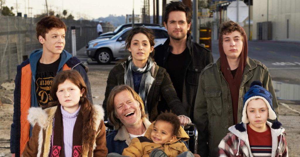 فرزندان فرانک گلگر در ابتدا و انتهای سریال Shameless چند ساله بودند؟
