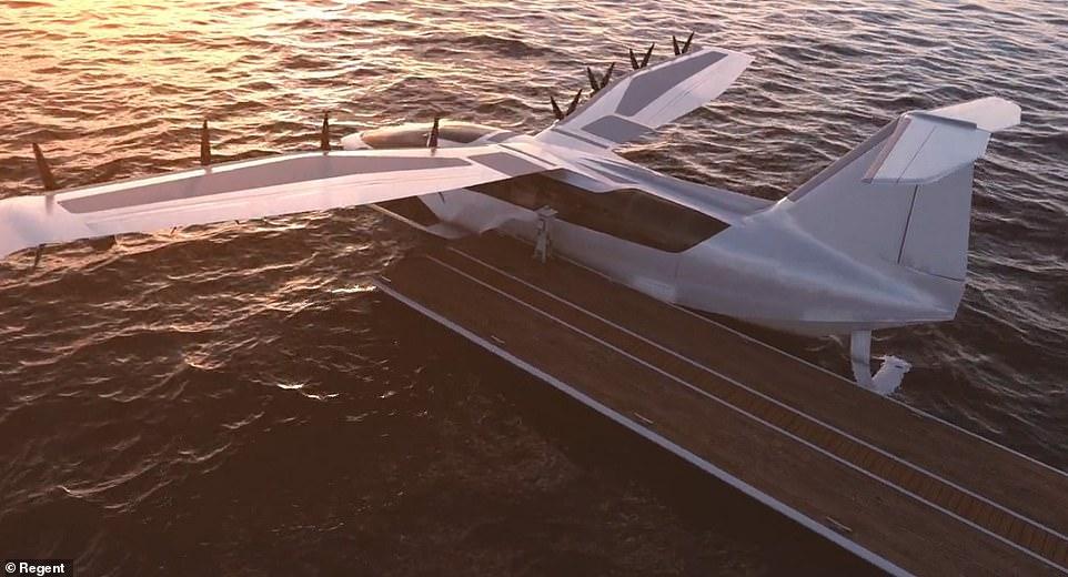 ماشین پرنده برقی seaglider ،سرعت، راحتی و سیستم های مسیریابی یک هواپیما را با تسهیلات، مانور بالا و ارزانی قایق ترکیب کرده است.