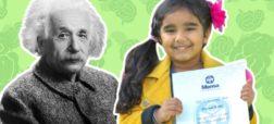دختر نابغه ۴ ساله با ضریب هوشی نزدیک به آلبرت اینشتین