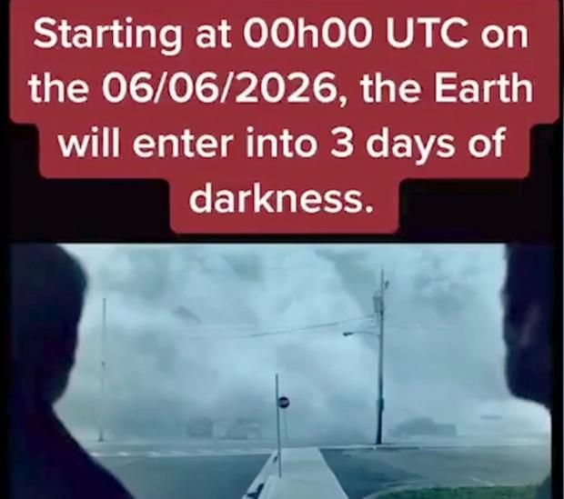 یک «مسافر زمان» که مدعی است به سال 2582 سفر کرده است، می گوید که زمین تا 5 سال دیگر وارد دوره ای تاریک خواهد شد.