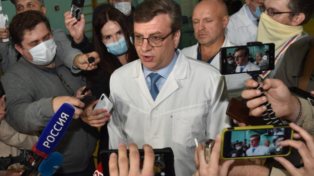 ناپدید شدن مشکوک پزشکی که حمله عصبی به الکسی ناوالنی را رد کرده بود