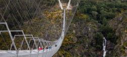 افتتاح طولانی ترین پل عابر پیاده دنیا در پرتغال