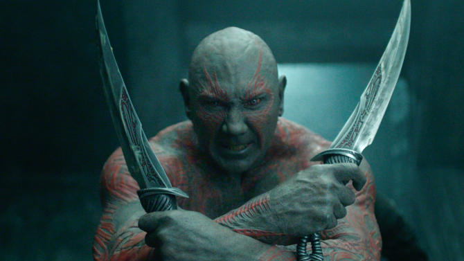 دیو باتیستا اعلام کرده است که بعد از بازی در فیلم مورد انتظار Guardians of the Galaxy Vol 3. از دنیای مارول کناره گیری خواهد کرد.