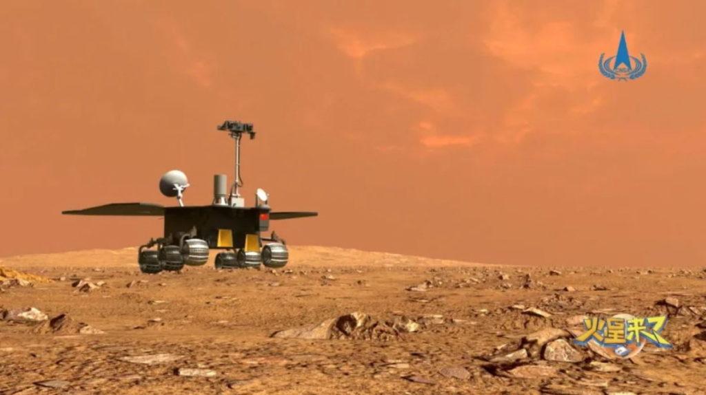 تاریخ سازی و فرود نخستین مریخ نورد چین روی سیاره سرخ