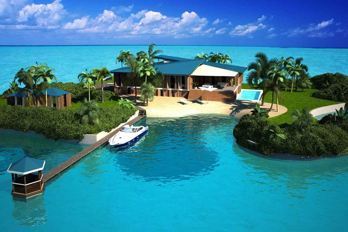شهر شناور مالدیو