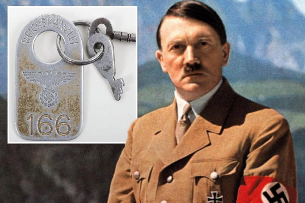 حراج کلید توالت آدولف هیتلر در یک حراجی