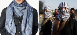 اعتراض به برند لویی ویتون به خاطر فروش روسری شبیه به چفیه فلسطینی
