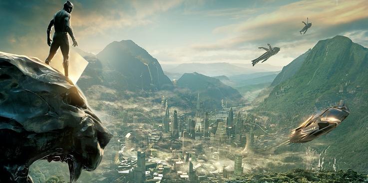 MCU Locations wakanda Cropped - تمام فیلم ها و سریال های اسپین آفی که بر اساس Black Panther ساخته می شوند