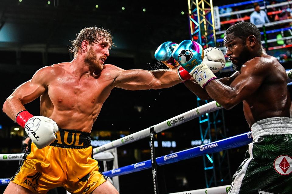 لوگان پال بعد از عملکرد خیره کننده اش مقابل فلوید می ودر به دنبال یک مبارزه بوکس با مایک تایسون قهرمان سابق سنگین وزن جهان است