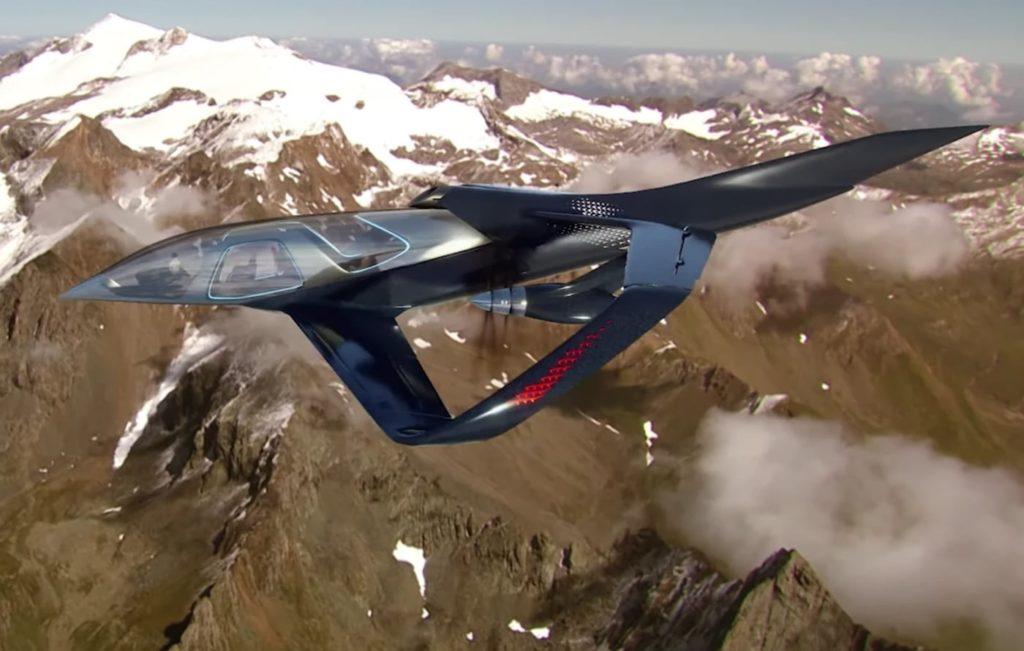 انتشار طرح مفهومی از خودرو برقی پرنده Pulse با پوسته شیشه ای و میدان دید ۳۶۰ درجه